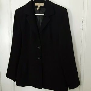 Apostrophe Essentials black blazer 10 fully lined
